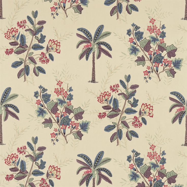 Zoffany - Luxury Fabric and Wallpaper Design | Products | British/UK Fabric and Wallpapers | Palme (ZJAI321679) | Jaipur Prints & Embroideries