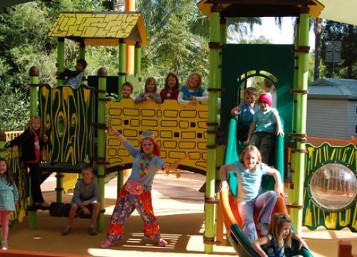 Juniors Jungle playground at Ashmore Palms