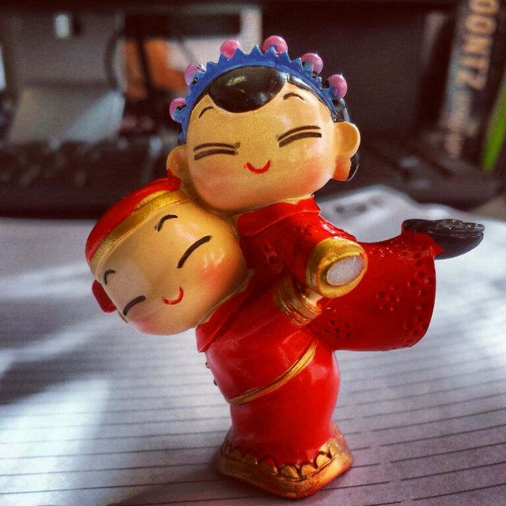"SO cute! Gift from my Taiwanese student, ""Yank"" :)"