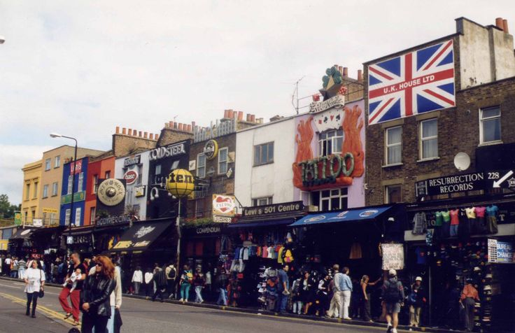 Camden Town - Greater London, UK. One of my favourite places in the city.