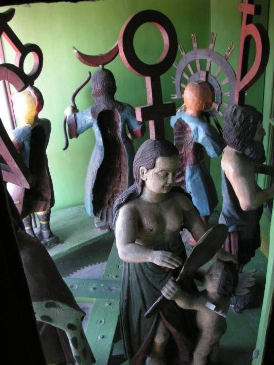 2006 - Sighisoara - clock tower figures