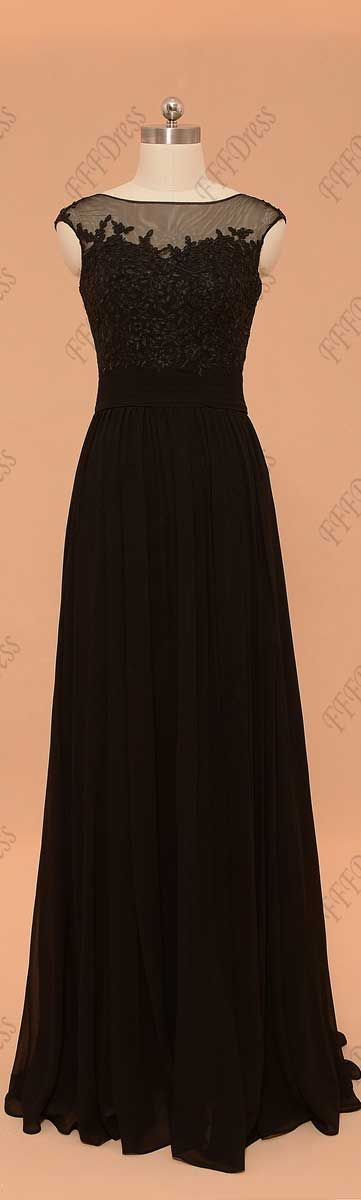 Black formal dresses cap sleeves evening dresses long prom dresses plus size