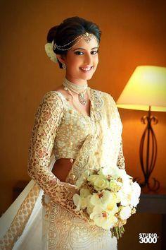 modern kandyan bride with veil - Google Search