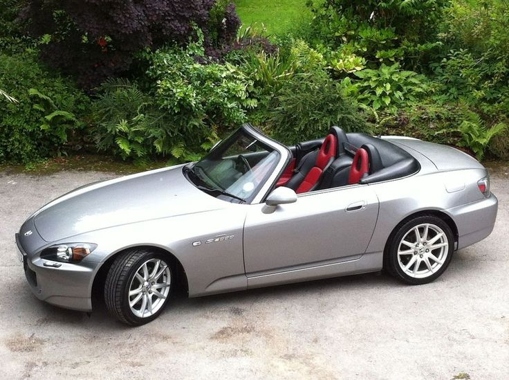 2004 HONDA S2000 SILVERSTONE RED/BLACK INTERIOR | eBay