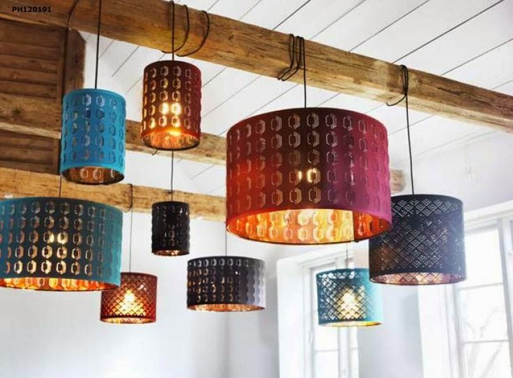 Nymo lampshades. One of these will definitely be happening, so cool in person // JULES BLOGS HERE: A sneak peek at the IKEA 2015 catalog