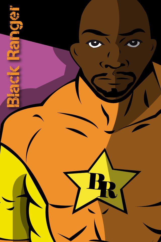 Black Ranger pour un tout ranger