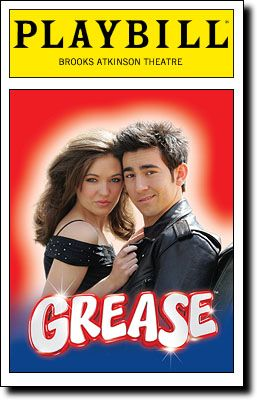 Grease- not even close to as good as the movie musical.Greas Broadway, Broadway Music, Grease 2008, Grease Thy, Playbill Covers, Grease Playbill, Music Theatres, Broadway Plays, Grease I