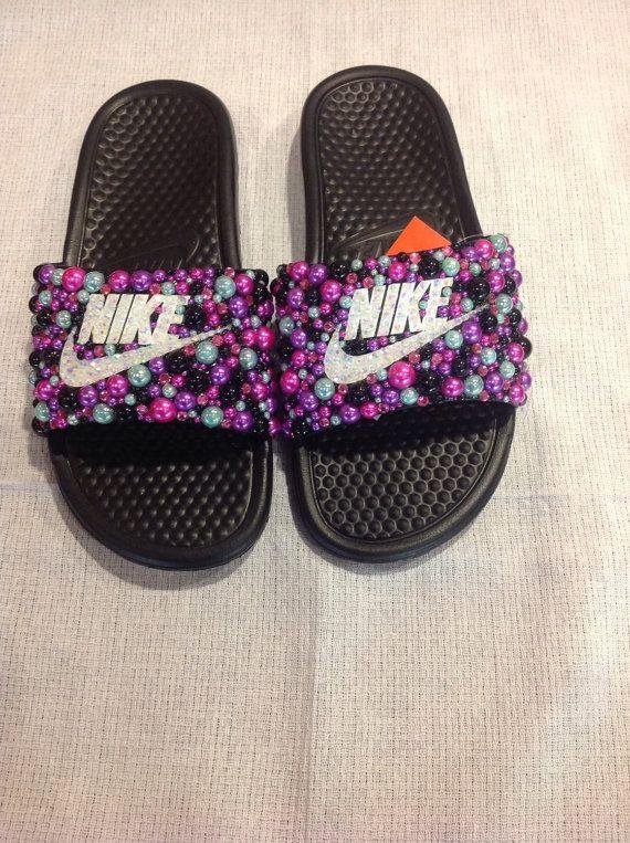 55 Best Diy Nike Slides Images On Pinterest Nike Shoes