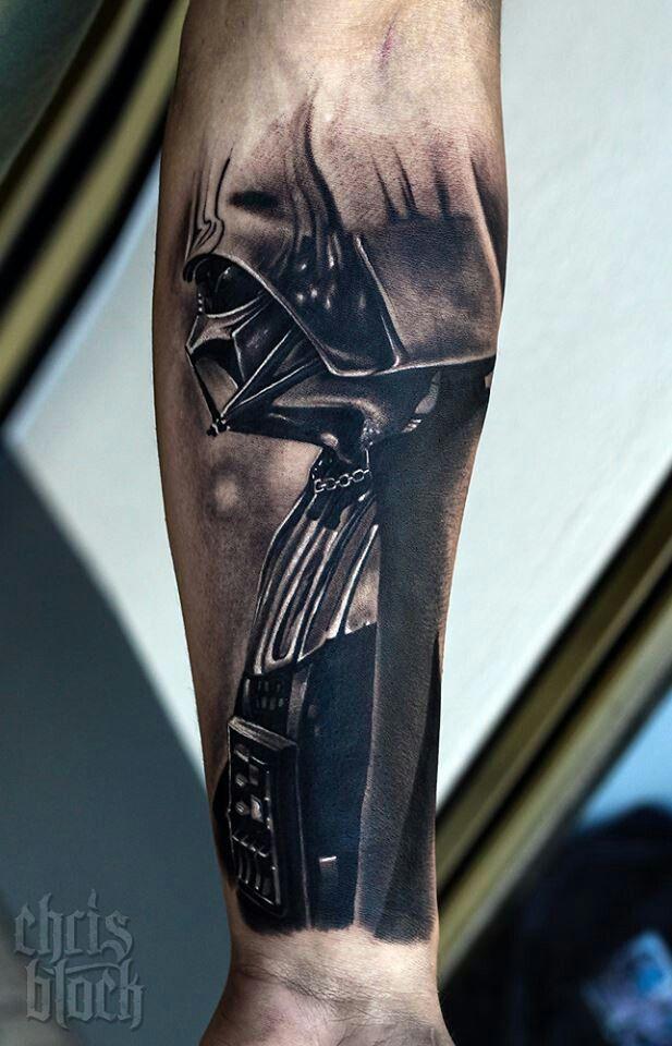Awesomeness cool darth vadar tattoo!