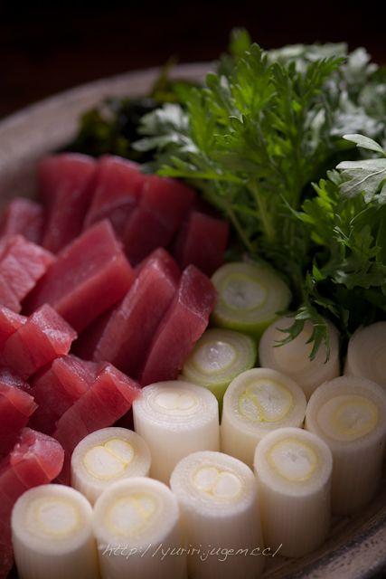 ねぎま鍋 & 〆のご飯 | ゆりり亭 *~料理もお酒も無手勝流~* 20111214 ネギマ鍋-19.jpg