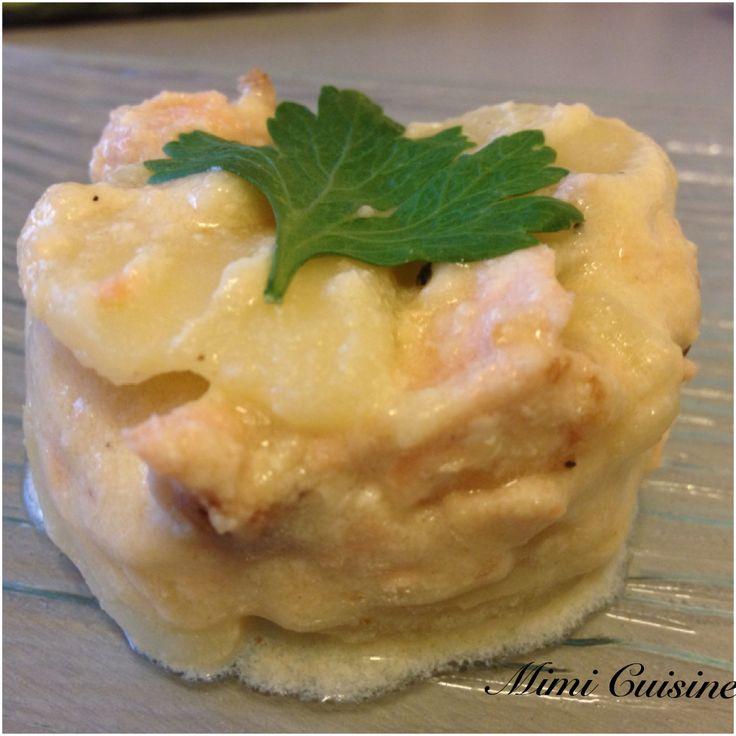 Pomme de terre fondante Saumon frais by COOKEO - Mimi Cuisine