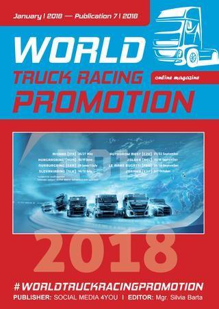 WORLD TRUCK RACING PROMOTION - January 2018  WORLD TRUCK RACING PROMOTION It is an Internet magazine