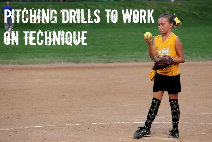 Softball Drills: How to Ensure Your Pitcher is Using Correct Technique : Softball Spot