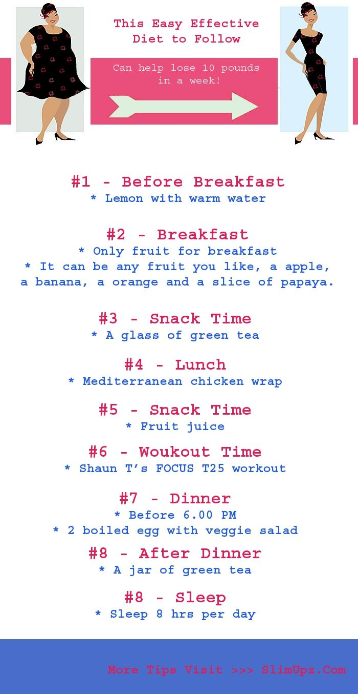 how to lose 35 pounds in 7 weeks