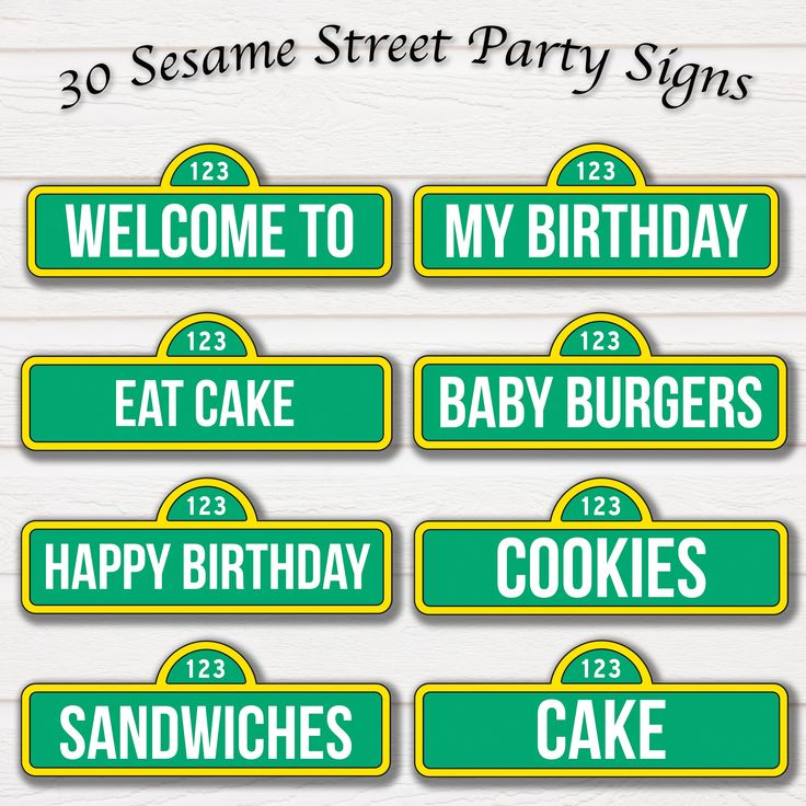 best 25 sesame street signs ideas on pinterest sesame