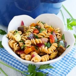 Grilled Ratatouille Pasta | Something I'd Like to Try | Pinterest