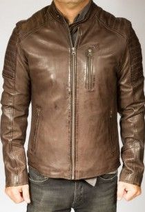Meilleur marque veste en cuir homme