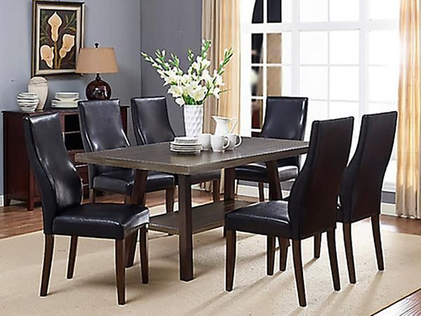 Scottsdale Dining Table Set  #www.craftmansfurniture.ca #furniture #furnituredesign #interiordesign #interiors #furnishing #couches #sofas #bedroomset #diningtable #rugs #coffeetables #canvas #endtables #accessories #accentchairs #canadianmade #solidwood #barstools #mirrors #heartlandtowncentre #handmade #mississauga #contemporaryart #bedroomdecor #homedecor #modernfurniture