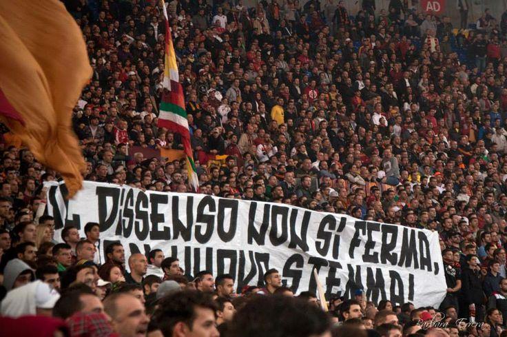 AS Roma vs Sassuolo Curva Sud