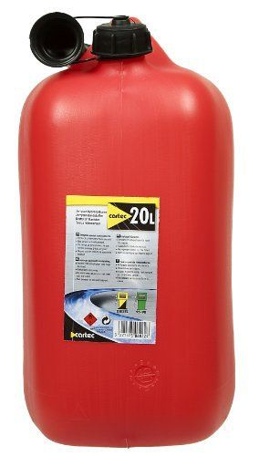 Cartec 506022 Jerrican Homologué Carburant 20 L: Price:9.99Jerrican plastique spécial hydrocarbures homologué Capacité 20 litres jerrican…