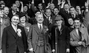 I have seen Britain shrouded in darkness before. Better times will come- Harry Leslie Smith The kind-hearted, egalitarian country that established the welfare state and built the NHS may seem dormant now – but it will rise again. Clement Attlee celebrates Labour's 1945 election victory