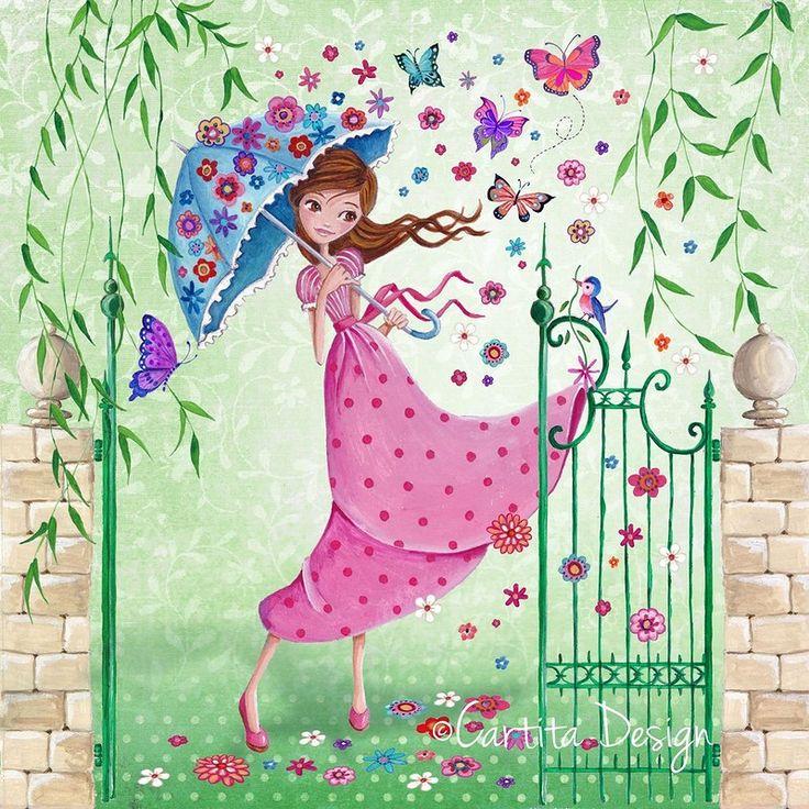 открытки с днем рождения весенние волшебные бесплатную картинку
