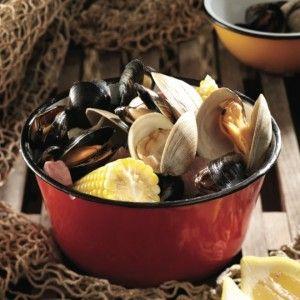 #PEI summer clambake menu. #Recipe.