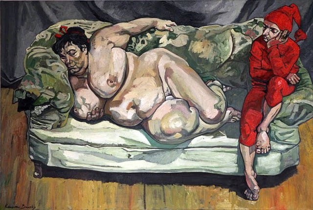 The Krasnals (inspiration: L.Freud+J.Matejko)