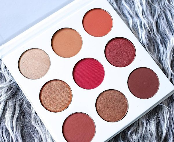 Kylie Jenner swatched her new Burgundy Kyshadow palette and it's only adding to our excitement