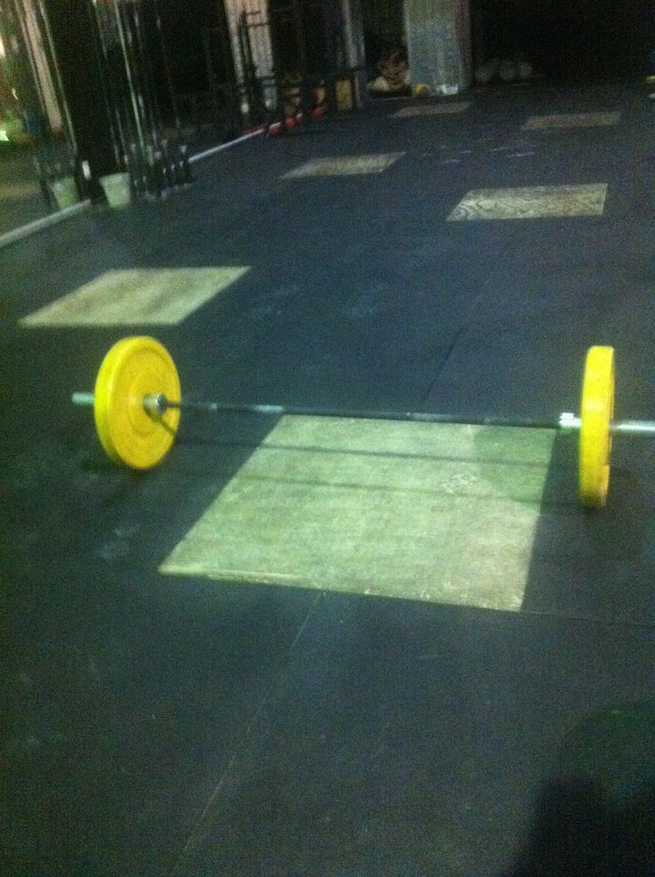 55kg snatches, PB for ed