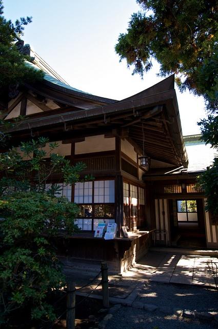 At Kamakura Tsurugaoka Hachimangu Shrine