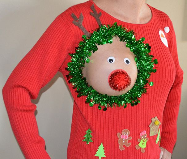 15+ Of The Ugliest Christmas Sweaters Ever (Submit Yours!)   Bored Panda