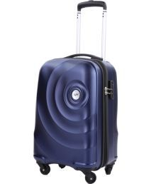 Skybags Small Size Mint Dark Blue 4 Wheel Trolley 55Cms size