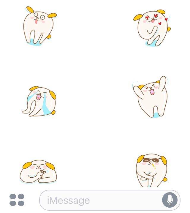 Cute Animated Stickers  iPhone 👉 https://itunes.apple.com/us/app/dog-lovers-animated-emoji-stickers/id1265086575?mt=8&utm_campaign=crowdfire&utm_content=crowdfire&utm_medium=social&utm_source=pinterest  #iMessage #stickers