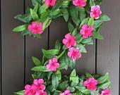Moana inspirados números de flores de decoración de fiesta de cumpleaños