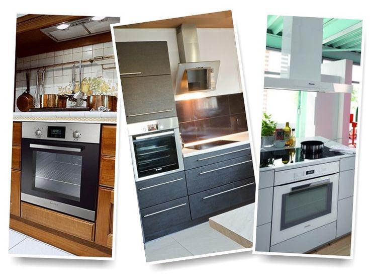 Gdzie umieścić piekarnik w kuchni, nowoczesna kuchnia , inspiracje aranżacje