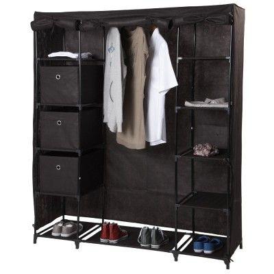 Les 25 meilleures id es concernant armoire penderie tissu sur pinterest pen - Structure armoire penderie ...