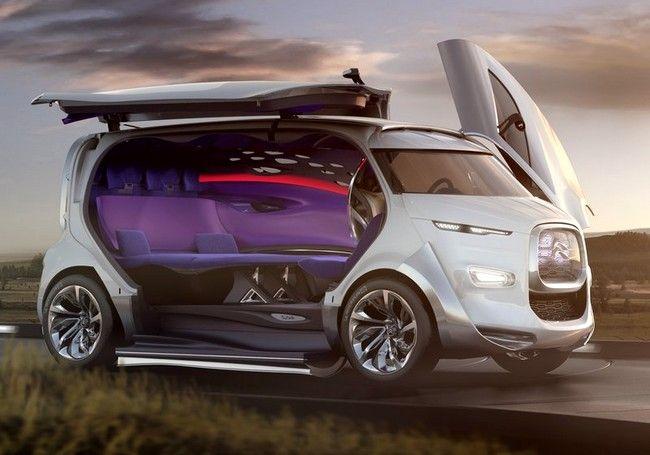 #Citroen #Concept #Van - How cool is this? #Design #Innovation