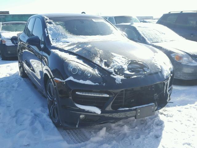 Salvage 2013 Porsche Cayenne Gts