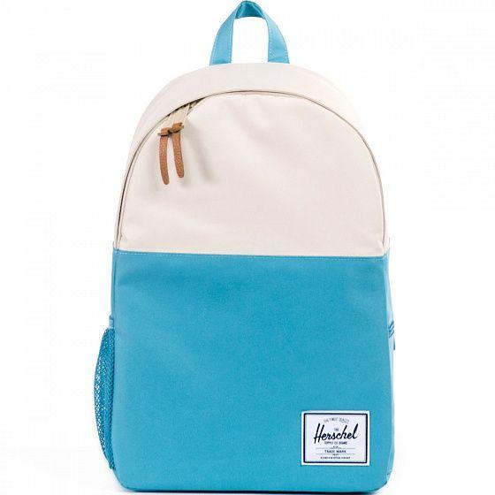 Лаконичный силуэт, прочная влагоотталкивающая ткань, отсек для ноутбука и качество Herschel – все самое необходимое для городского рюкзака.