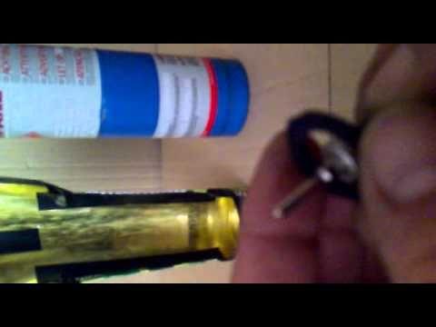 como fabricar una valvula para botellas de gas propano para replicas de airsoft