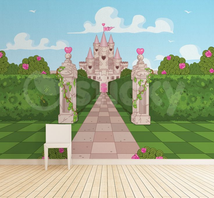 Castle Gate Wallpaper by Sticky!