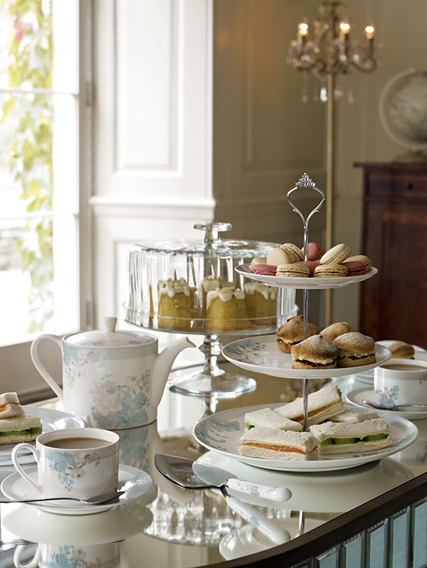afternoon tea ~                                                                                                                                                                                 More