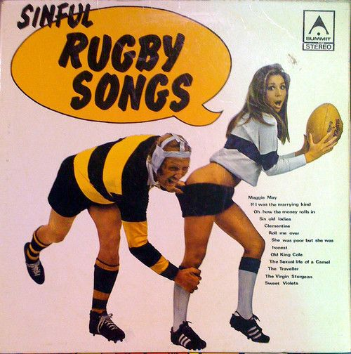 excitingsounds: Sinful Rugby Songs - front by @ablekay47