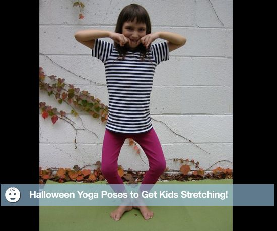 Kids should be reaching for more than candy this Halloween!  In an effort to get families stretching their minds around activities other than trick-or-treating during the candy-consuming holiday, Pure Yoga is offering A Spooky Kids Kula class in NYC that