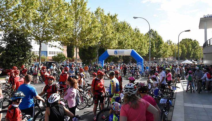 La Fiesta de la Bicicleta de Fuenlabrada se celebrará este próximo domingo 24 sept. a partir de las 11 h. con un nuevo recorrido. + información....