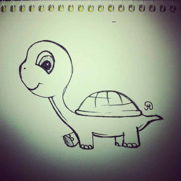 Just a little turtle illustration :)