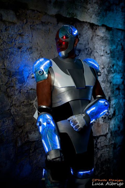 Teen Titans Cyborg Cosplay  Cosplay Done Right -2461