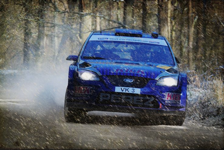 Rally in the Forest - A shot from a few years back at the forest of dean rally