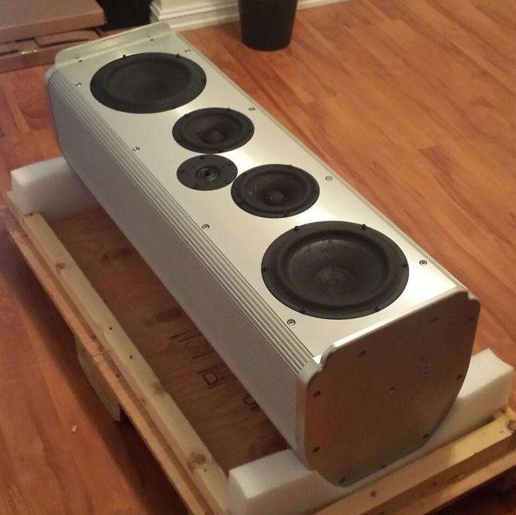 Krell lat-c is the center speaker